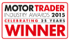 MotorTrader winner 2015